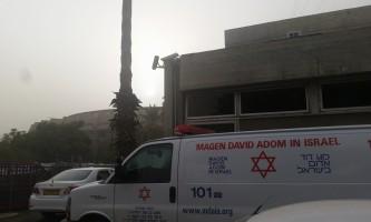 אובך בתל אביב - צילום דוברות מדא