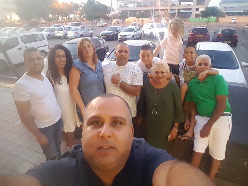 אמא יקרה...משפחת קנדשי חוגגת יום הולדת לאמא ירדנה במסעדת ג'קו