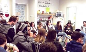 ביקור של תיכון חדרה בטורבינה 26.1.17