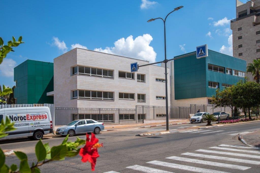 בית הספר הלל צור החדש. צילום - רן אליהו