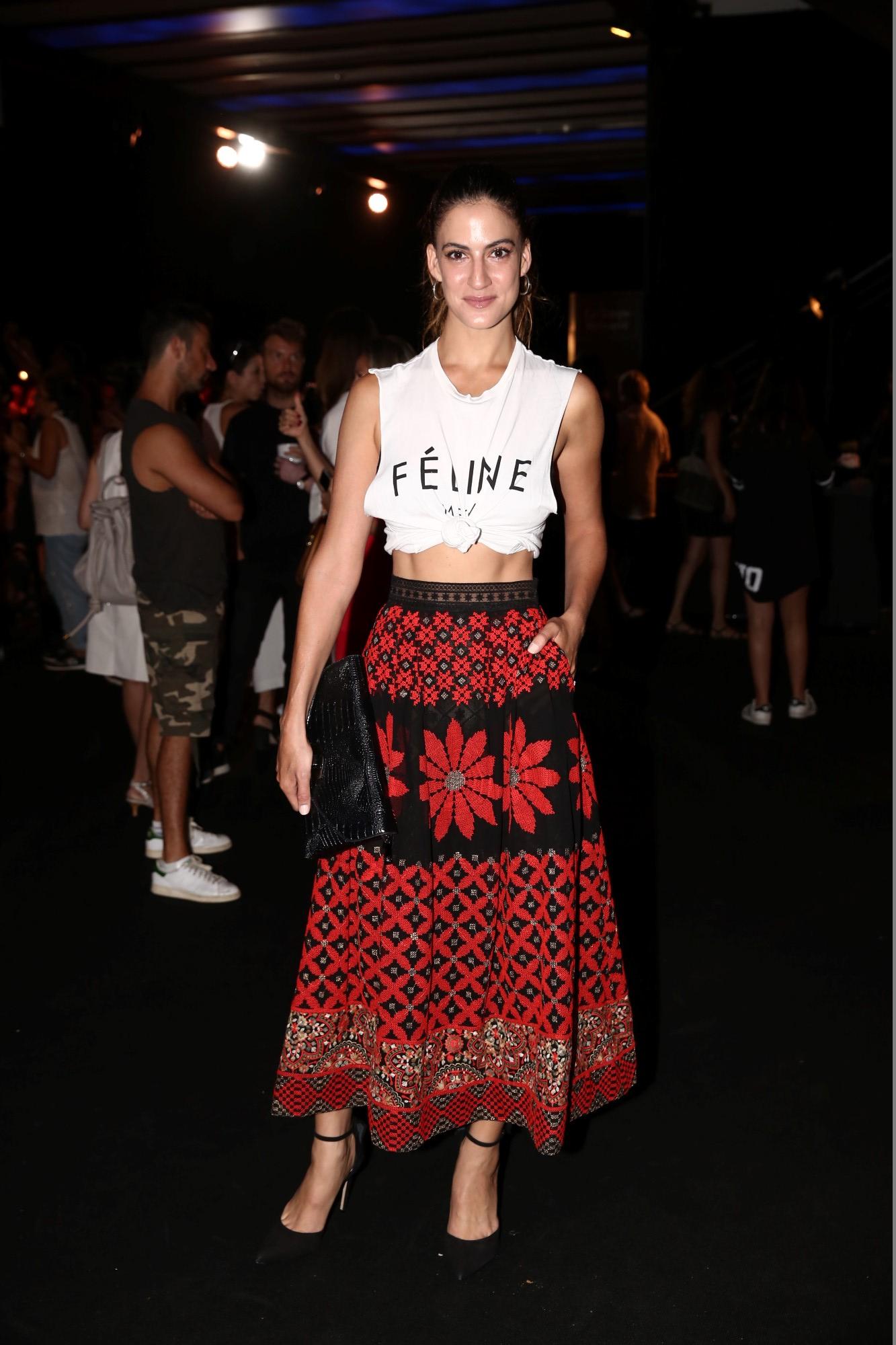 בסטייל השטיח האדום... תצוגת האופנה מבית רנואר לסתיו חורף הבאים צילום אלירן אביטל