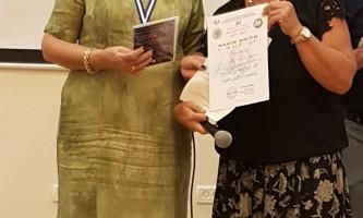 גאווה נתנייתית יור ארגון הווטרנים בנתניה סוזנה אזארי וראש העיר
