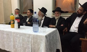 גבאי בתי הכנסת התאחדו לקראת השנה החדשה