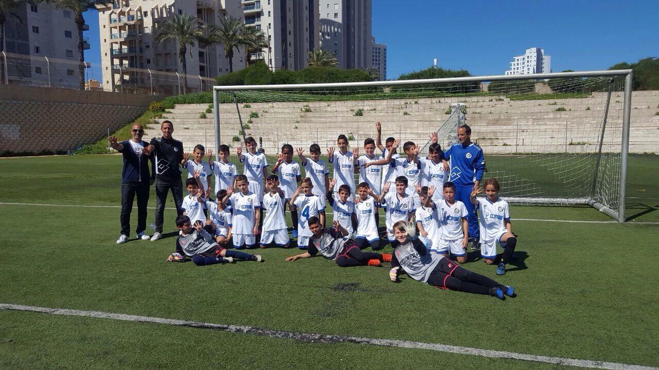 הישג מרשים... הנוער שנתון 2006 של טוברוק חוגגים את הניצחון על מכבי נתניה