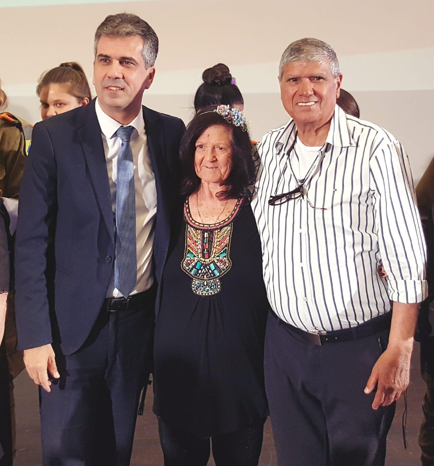 השר כהן וראש המועצה אבי הררי - אירוע גיבורות היופי 2019