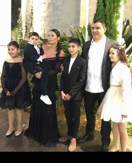 חוגגים לאלוף... משפחת שבת בבר המצווה לשילי במתחם האירועים תל-יה