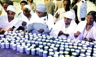 טקס זיכרון ליהודי אתיופיה 1.6.16