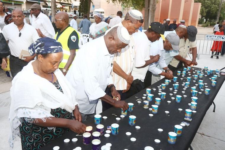 טקס זיכרון ליהודי אתיופיה 2.6.19