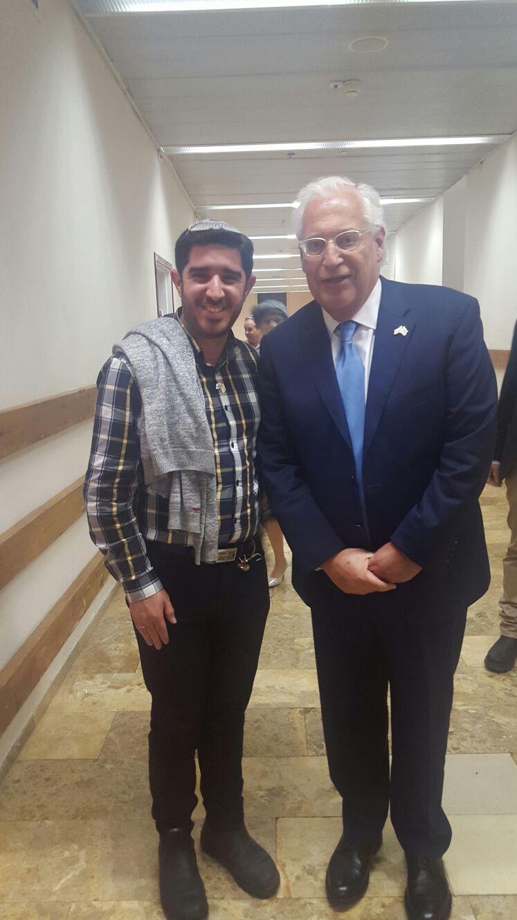 ייצוג נתנייתי מכובד... עוד רותם קקון ושגריר ארהב בישראל בערב גאלה יוקרתי