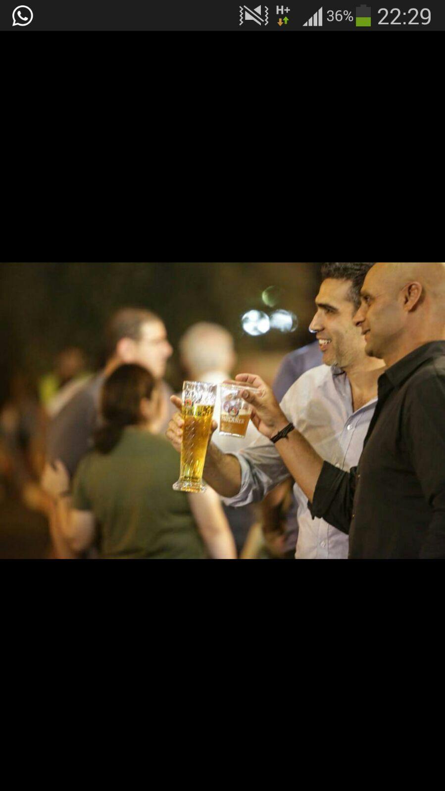 לחיים הנאות הקטנות... יוני שטבון ורפי ימין בפסטיבל הבירה אוקטוברפסט