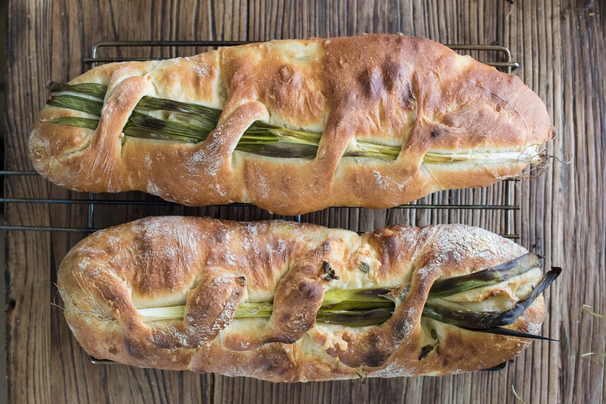 לחם שום ירוק 1