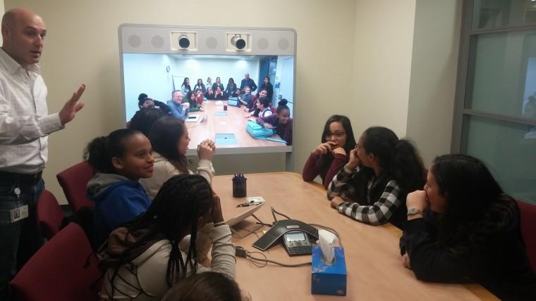 לימודי פרימיום ביקור תלמידי חמד ריגלר בסיסקו