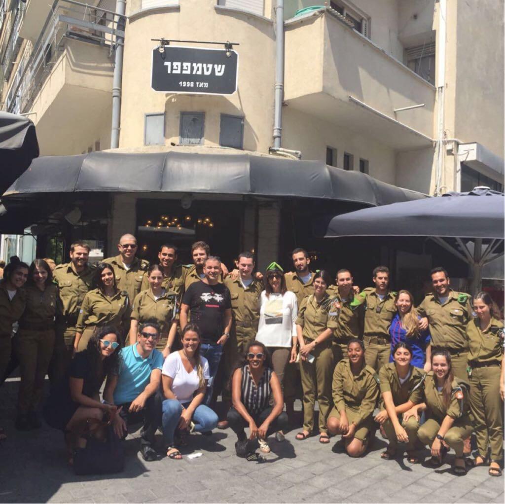 למען החייל...בה״ד 09 באגף הנוער והצעירים בשיתוף מנהל חינוך מודים לחיילים המשרתים בבתי הספר בעיר