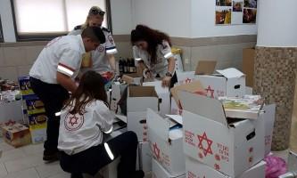מבצע קמחא דפסחא במדא - צילום דוברות מדא (003)
