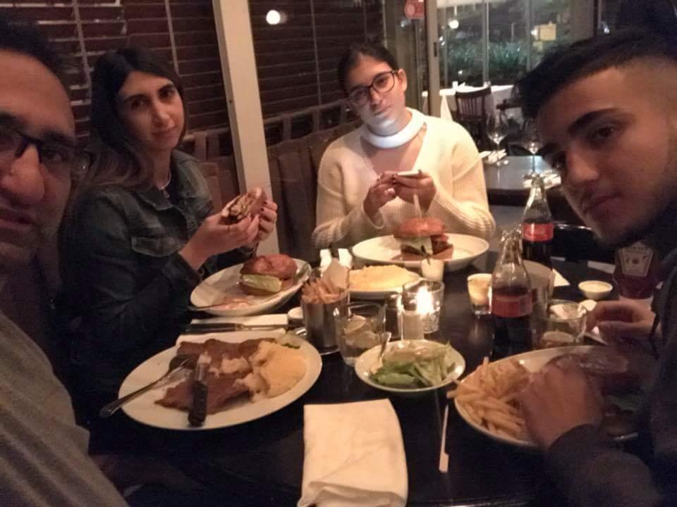 מוקף אהבה... מאור דאיה חוגג יום הולדת במסעדת סבסטיאן בחיק ילדיו