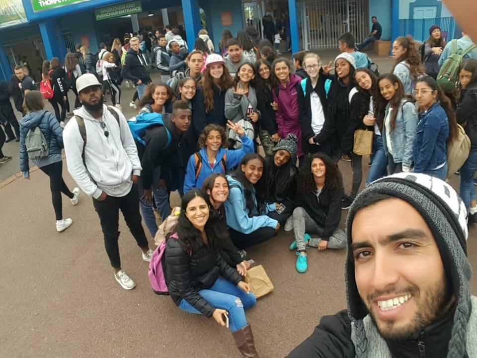 מסבירים ישראל ... משלחת בני הנוער מטעם מרכז קהילתי מזרח נתניה עושים את לונדון