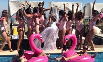 מסיבת הרווקות... דנה זרמון חוגגת לפני החופה בסטייל צילום יחצ