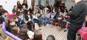 מפגש ראש העיר עם בני נוער 13.2.17