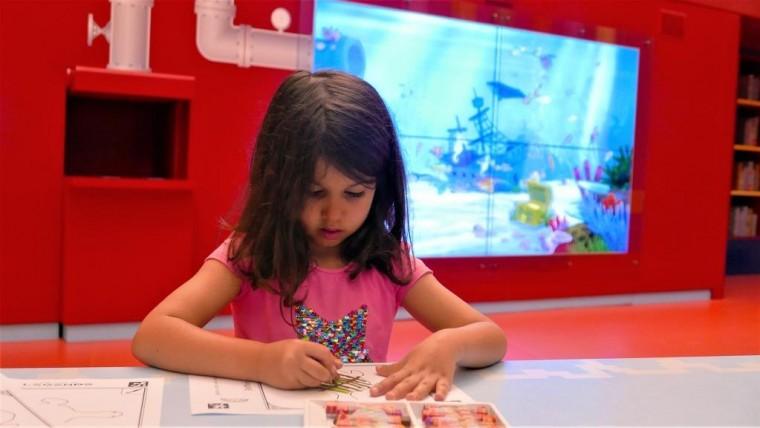 משחקי ילדות אינטראקטיביים בקניון עיר ימים בנתניה בחינם צילים בריז קריאיטיב (3)
