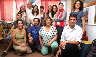 משלחת מבולגריה בדמוקרטי חדרה 28.10.15
