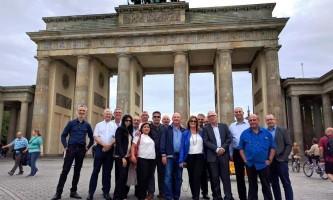 משלחת שלטון מקומי בברלין 6.6.16