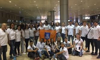 נבחרת נתניה באולימפיאדת הילדים בליטא