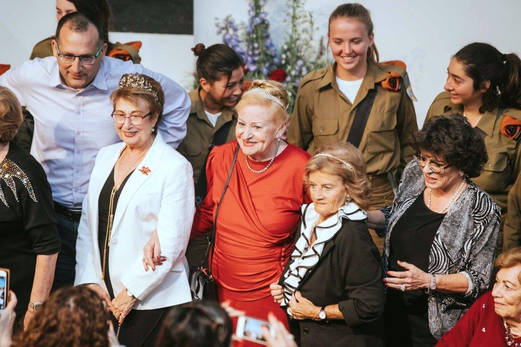 ניצולות השואה באירוע גיבורות היופי, צלם אביב אברג'ל
