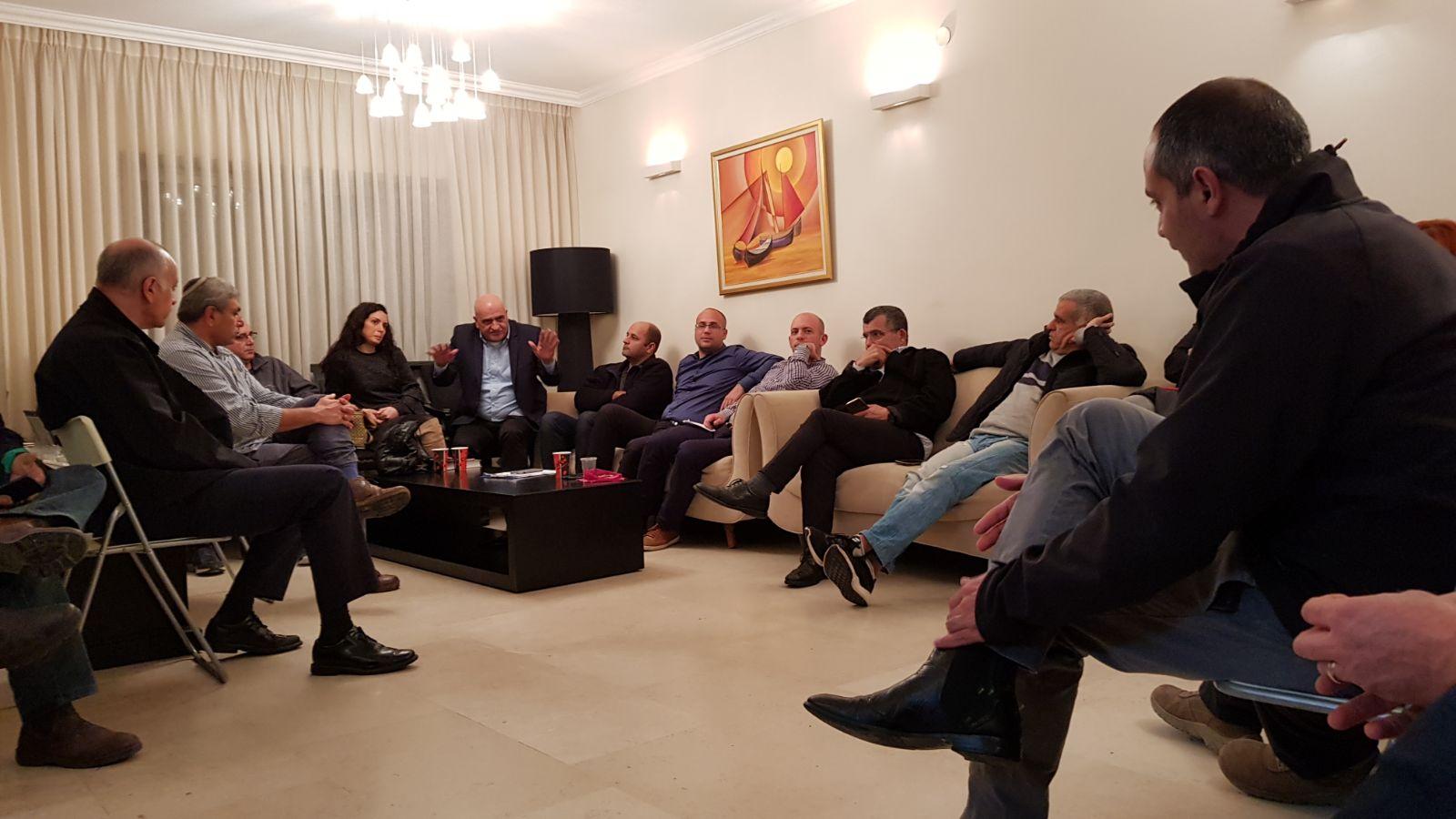 נערכים בשטח... מפלגת כולנו בישיבה עבודה ראשונה בעיר נתניה