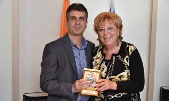 נתניה מתחדשת ראש העיר , מרים פיירברג איכר וחבר הכנסת אלי כהן