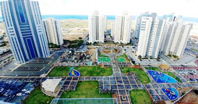 מדהים נחנך הפארק בשכונת עין הים - רשת מקומונים בשרון - רשת מקומונים בשרון LJ-41