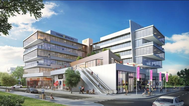 צילום הדמיה, משרד טיבה אדריכלים.