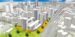 קריית נורדאו – לפני ואחרי: הוגשה תוכנית מתאר להתחדשות עירונית בקרית נורדאו