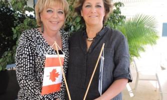 קשרי חוץ שגרירת קנדה וראש העיר נתניה