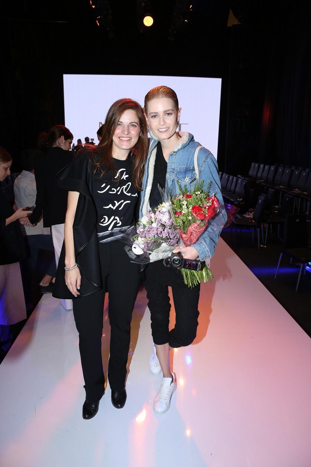 שביט ויזל ושרון טל המעצבת של בית האופנה משכית צילום עופר חן