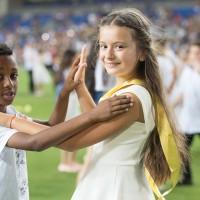 תלמידי בית הספר נורדאו בריקוד סלוני