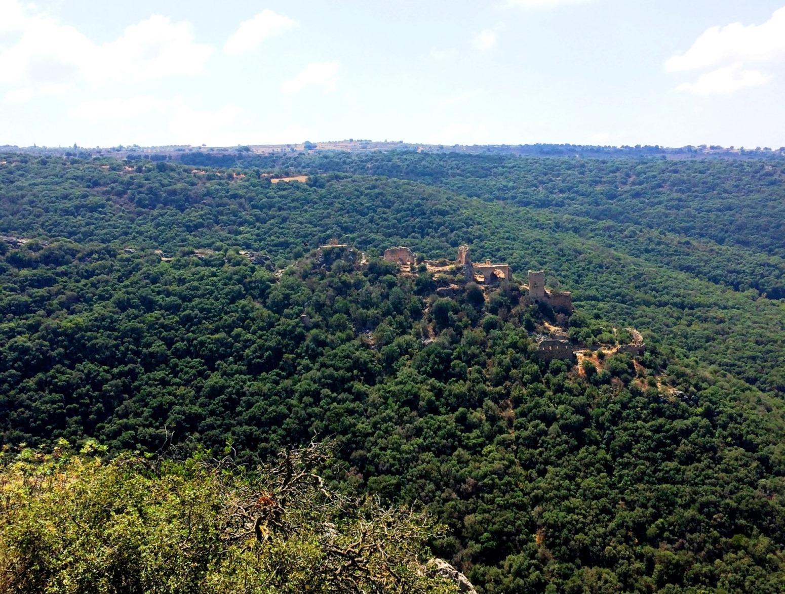 תצפית המונפורט מפארק גורן צילום אוצרות הגליל