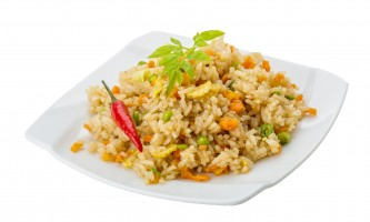 Vegetarian fried rice - asian food
